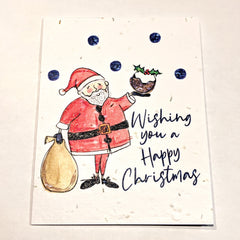 Wishing You a Happy Christmas Seed Card
