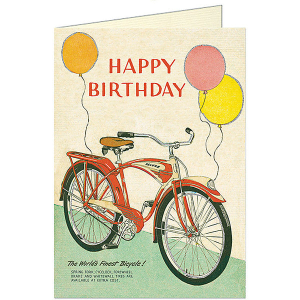 Birthday Day Bicycle