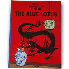 The Blue Lotus Softback Book