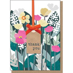 Thank You Card - Garden