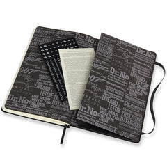 Moleskine Limited Edition James Bond Carbon Ruled Notebook