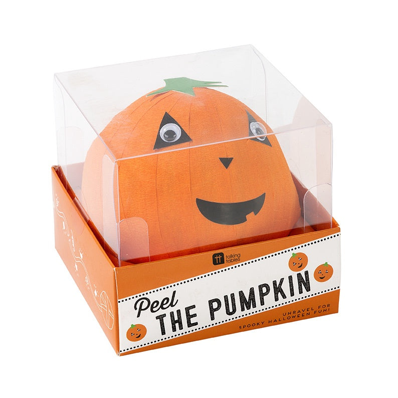 Boxed Wonderball with Pumpkin Face
