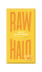 Raw Halo Mylk & Salted Caramel Organic Chocolate Bar 35g