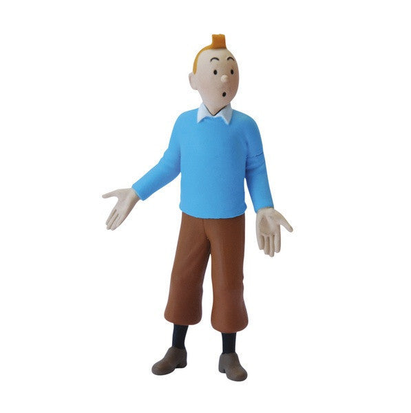 Tintin Blue Jumper Figure