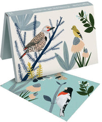 Notecard Wallet Birds on Branches