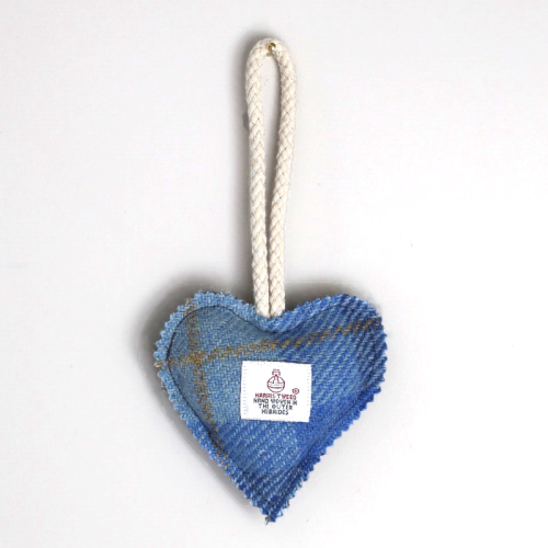 Harris Tweed Lavender Heart