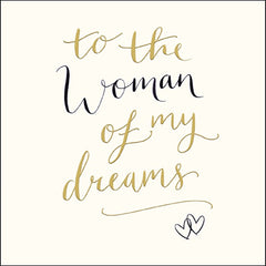 To the Woman of My Dreams Card