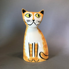 Ceramic Ginger Cat Money Box