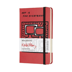 Moleskine Limited Edition Keith Haring Pocket Plain Notebook