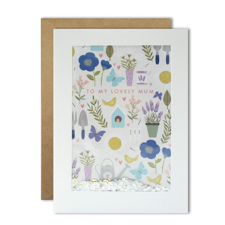 Mothers Day Gardening Shakies Card