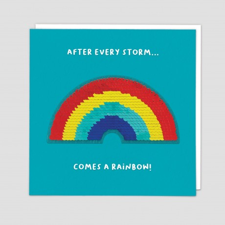 After Every Storm Sequin Patch Card