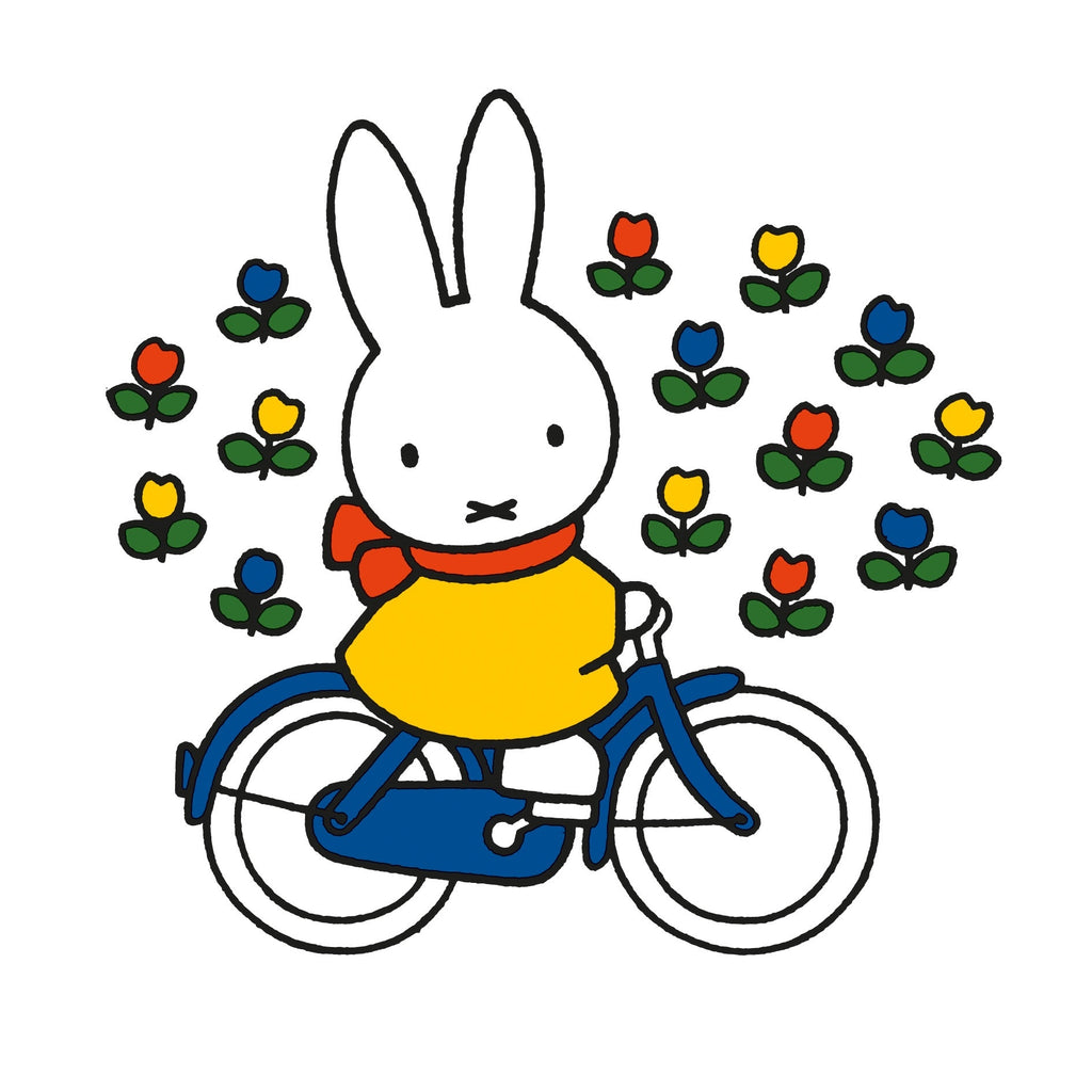 Miffy Rides Her Bike Card