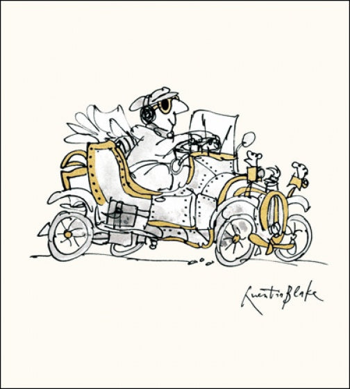Young at Heart Quentin Blake Card