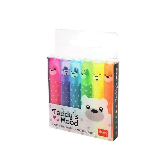 Teddy's Mood Scented Highlighter Pens