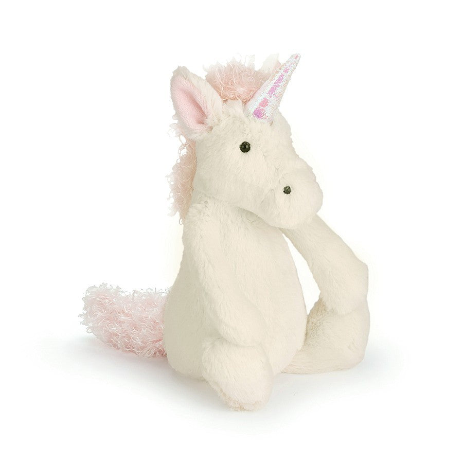 Small Bashful Unicorn 18cm