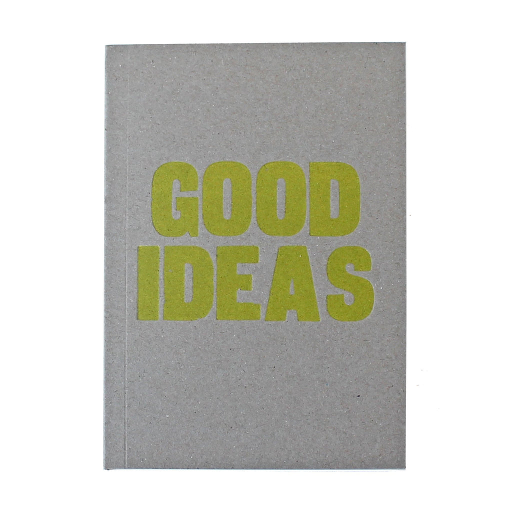 Good Ideas Letterpress Lined Notebook