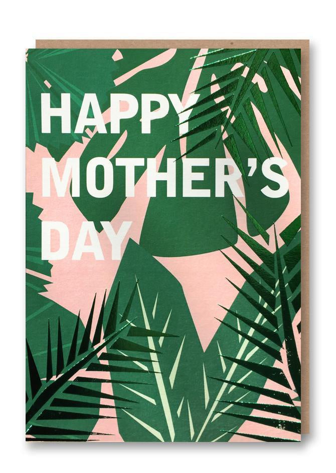 Happy Mother's Day Leaves Card