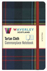 Tartan Cloth Notebook - Malcolm