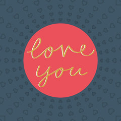 Love You Type Card