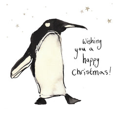 Wishing You A Happy Christmas Card by Catherine Rayner