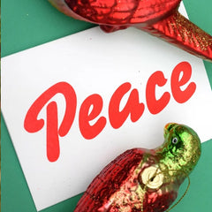 Red Peace Card
