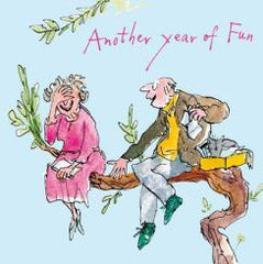 Another Year Of Fun Quentin Blake Card