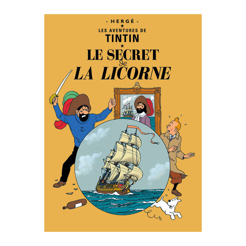 Le Secret de la Licorne Postcard