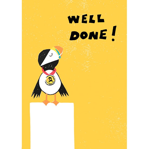 Morag Hood The Steves Well Done Card