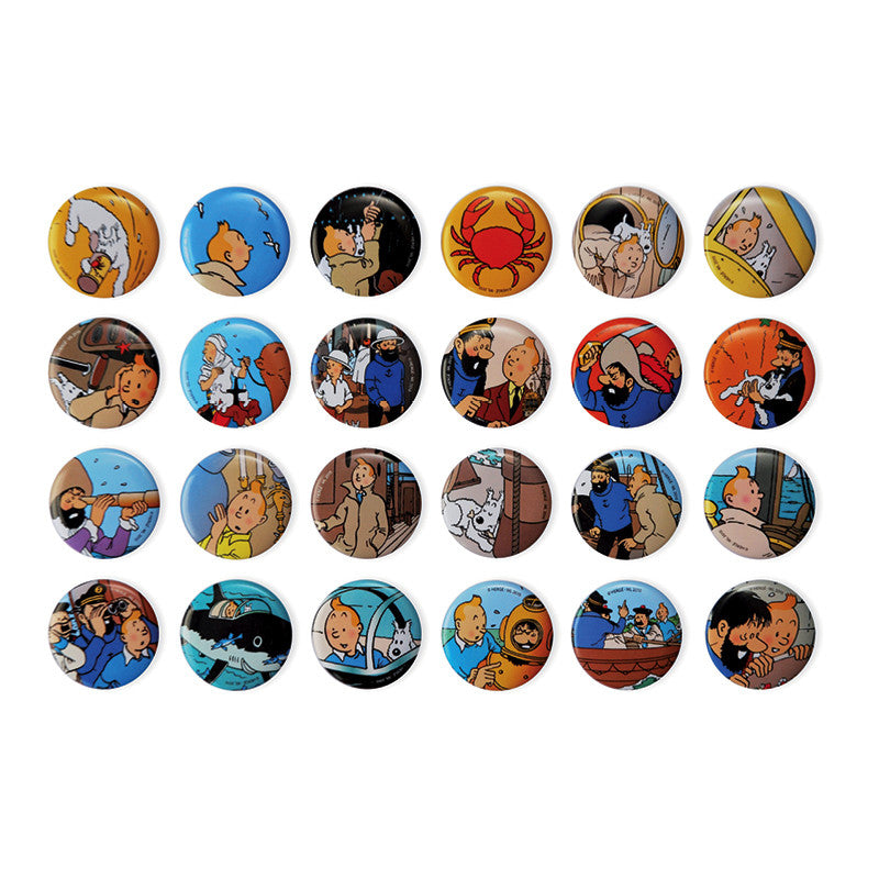 Tintin Badge