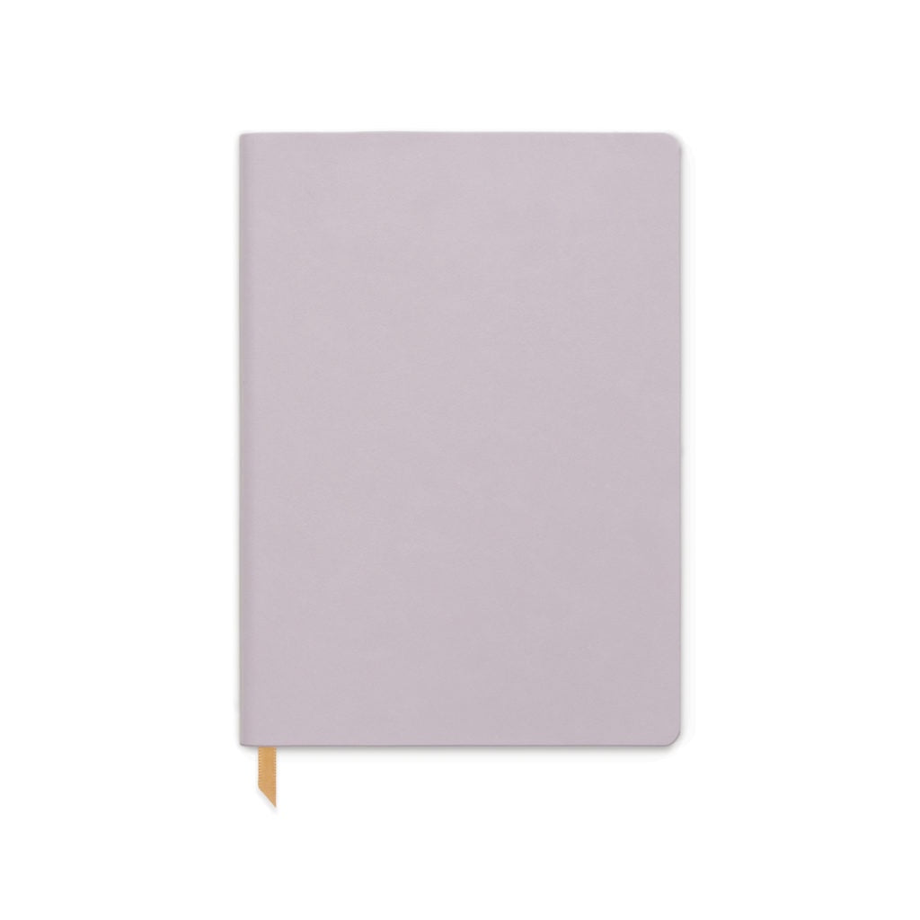 Dusty Lilac Vegan Leather Ruled Journal