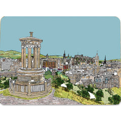 Calton Hill Edinburgh Placemat