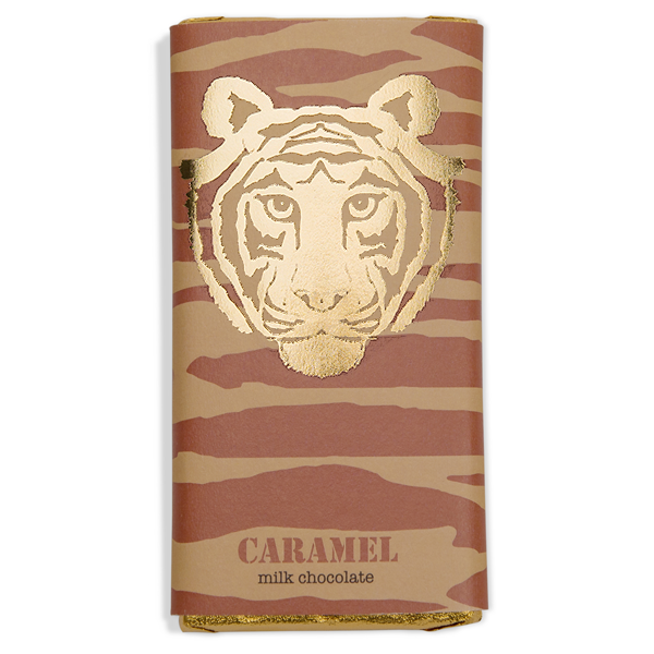 Paper Tiger Caramel Milk Chocolate