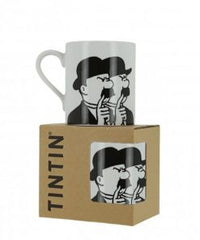 Thompsons Black Line Mug