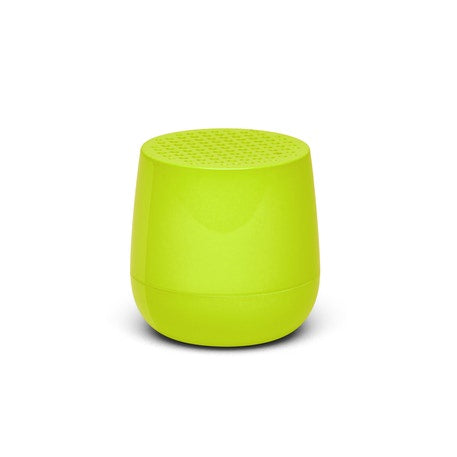 Fluoro Yellow MINO Speaker by Lexon