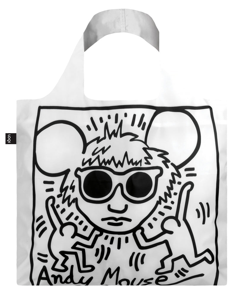 Keith Haring Andy Mouse LOQI Bag