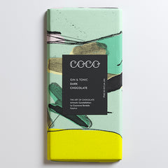 Gin & Tonic Artist Collection Chocolate Bar