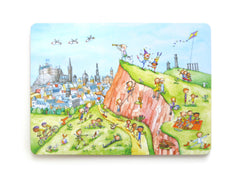 A View of Salisbury Crags Gingerpaws Placemat