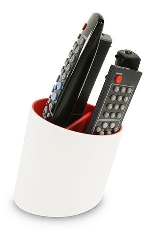Tilt Remote Tidy - White/Red
