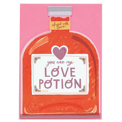 You Are My Love Potion Card