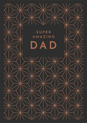 Super Amazing Dad Pattern Card