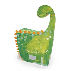 Dino Roarsome Birthday 3D Card