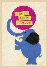 Oops... Elephant Card