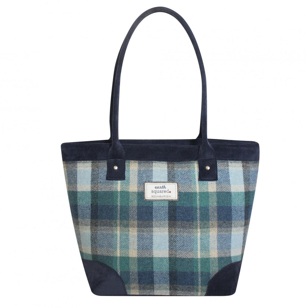 Cloudburst Tweed Tote Bag