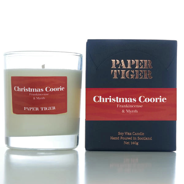 Paper Tiger Christmas Coorie Frankincense & Myrrh Medium Candle