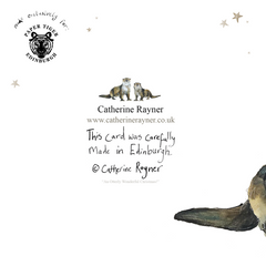 Otterly Wonderful Christmas Card by Catherine Rayner