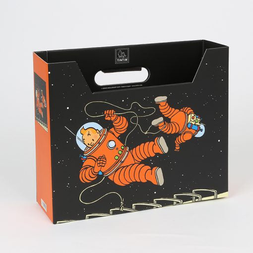 Tintin Explorers On The Moon Magazine Tidy