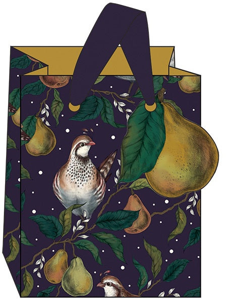 Partridges Small Gift Bag