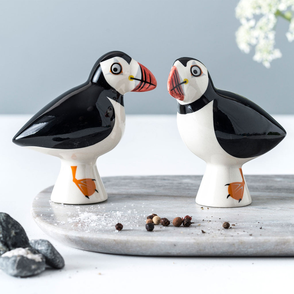 Puffin Salt and Pepper Shakers