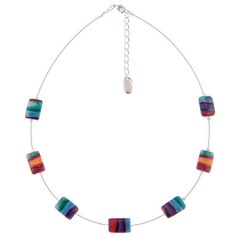 Carrie Elspeth Abstract Spaced Necklace