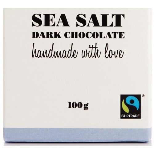 Organic Dark Chocolate Sea Salt Bar